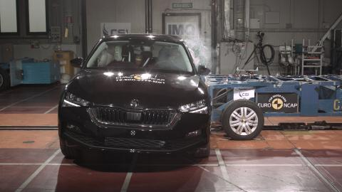 Skoda Kamiq side impact test 2019