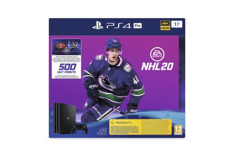 EA SPORTS NHL 20 PS4 Pro-bundling