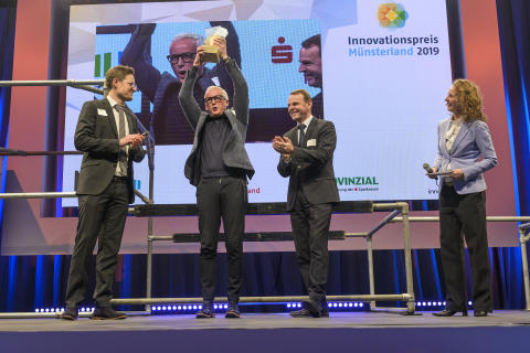 Frank Brormann erhält Innovationspreis Münsterland 2019_1