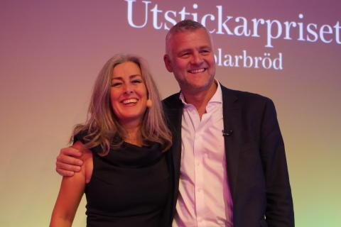 Polly Higgins och Johan Söderberg