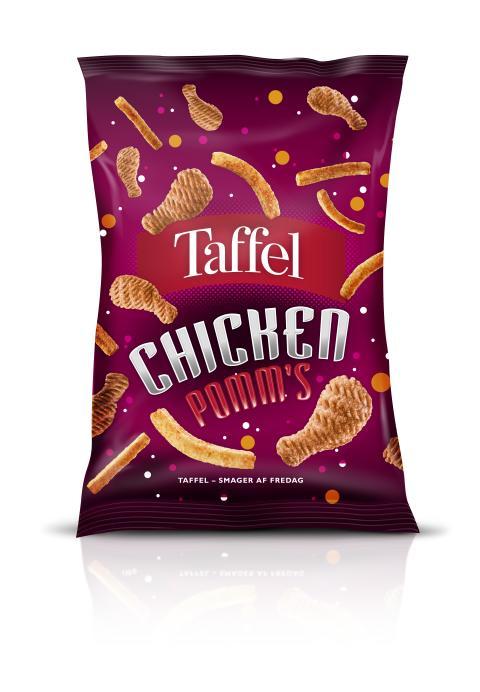Taffel Chicken Pomms 130g