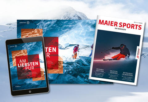 Das neue Maier Sports Ski Magazin