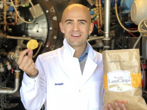 Svenska LantChips tillverkar världens miljösnällaste chips