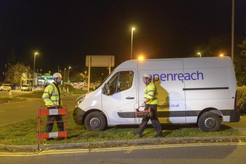 Engineers with van (1)