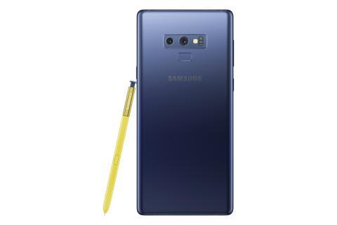 Samsung Galaxy Note9_back_pen_blue