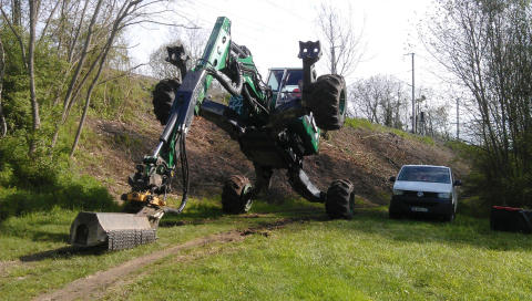 No. 7. Euromach R145 Big Foot - Forester / Euromach srl (Italy)