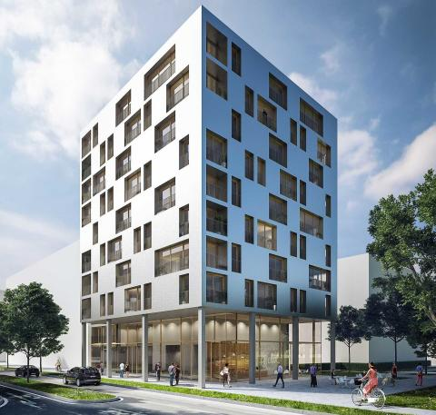 Construction start for Germany's first timber high-rise