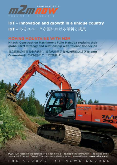 M2M Now interview with Hitachi Construction Machinery
