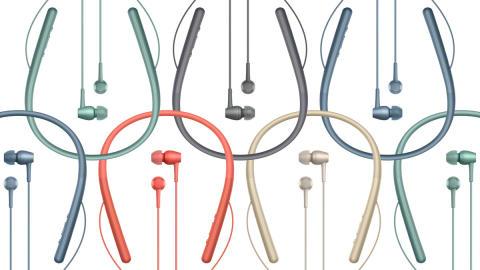 La série h.ear de Sony donne le ton avec une nouvelle conception compacte et des couleurs rafraîchissantes