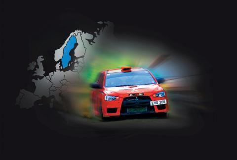 Mitsubishi Ralliart Evolution Challenge Sweden - Inför första deltävlingen