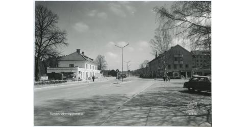 Tumba gamla station, ca 1950