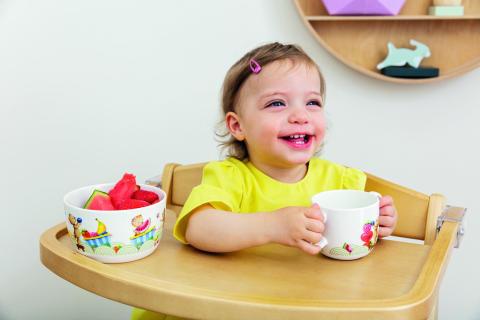 Spaß an gesundem Essen – Kinderkollektion Kiddy Bears: Kindgerechtes Geschirr mit fröhlichen Motiven