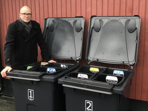 Nu blir det lättare att sortera avfall i Upplands-Bro