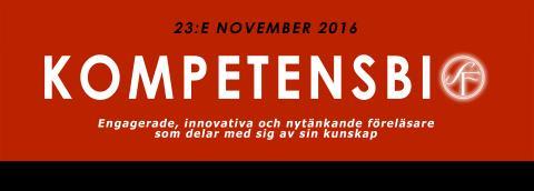 Kompetensbio den 23 november, i Stockholm. Ett gratis kompetensforum av och med Webstep!