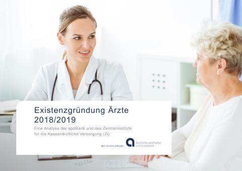 Zahlen zu PM apoBank-Analyse Existenzgründung Ärzte 2018/2019