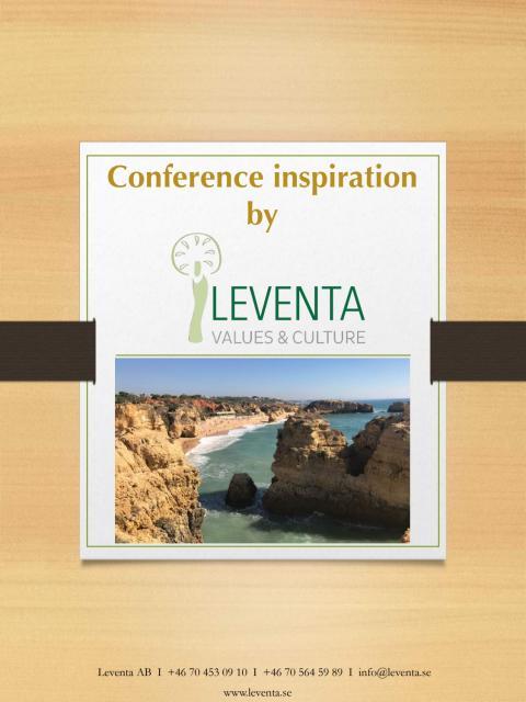 Conference program inspiration