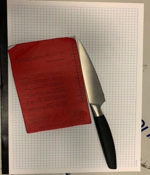 Image of recovered knife [2]