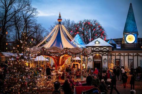Weihnachten Tivoli