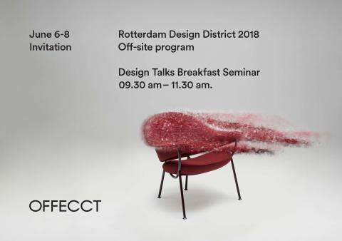 Offecct at Rotterdam Design District, June 6-8