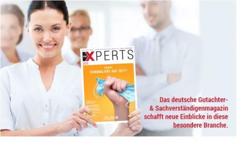 proXPERTS, das deutsche Gutachter- und Sachverständigenmagazin