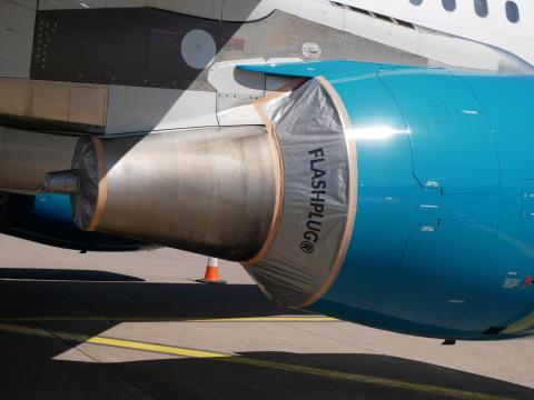 FLASHPLUG® - QUICK FIT AIRCRAFT ENGINE PRESERVATION SET