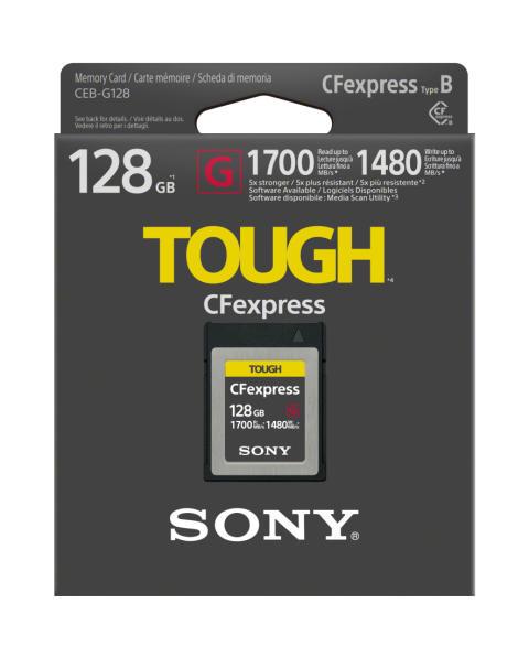 Společnost Sony vyvinula paměťovou kartu CFexpress Type B, která se pyšní extrémně vysokou čtecí rychlostí až 1700 MB/s  a rychlostí zápisu dosahující až 1480 MB/s