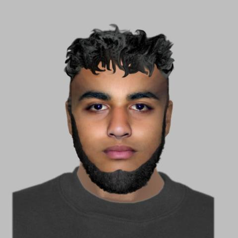 E-fit image released in GBH investigation – High Wycombe