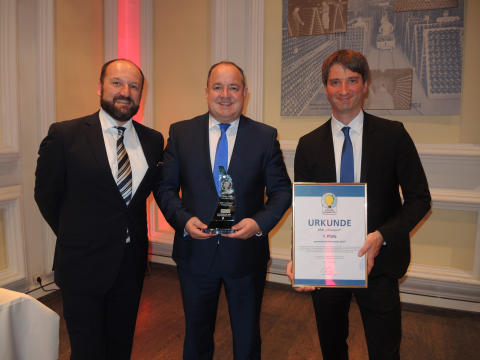 eTransport recognised as Green Truck Innovation 2017