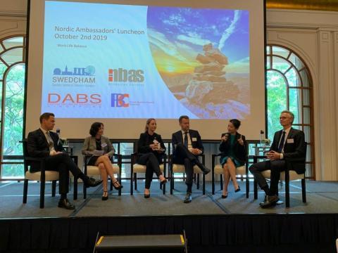 Nordic Ambassadors Luncheon: - Work life balance is not a zero-sum game