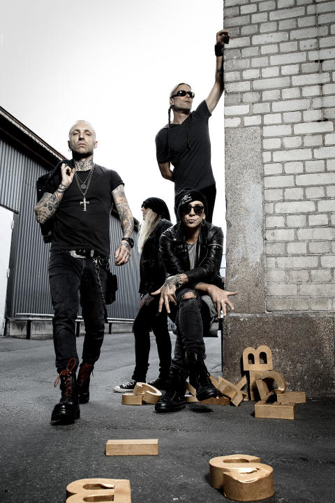 Pressbild Backyard Babies