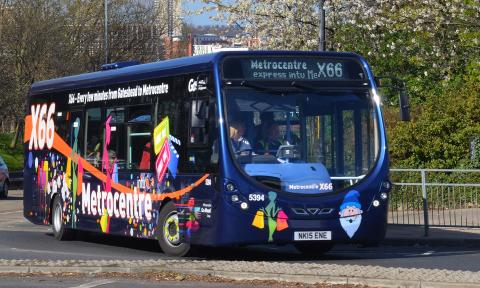 Go North East at the forefront of eco-friendly technology, trialling region's first zero fuel fully electric bus