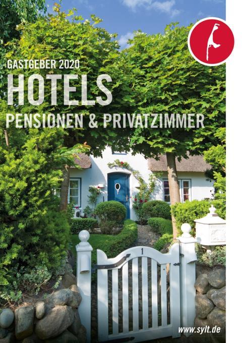 Gastgeberverzeichnis Sylt 2020 Hotels, Pensionen und Privatzimmer.