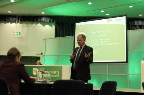 Our first guest speaker was Professor Aidan Halligan, Director of Education at University College London Hospitals