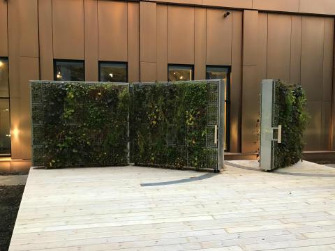 UG Fristående gröna väggar öppnar upp spännande möjligheter