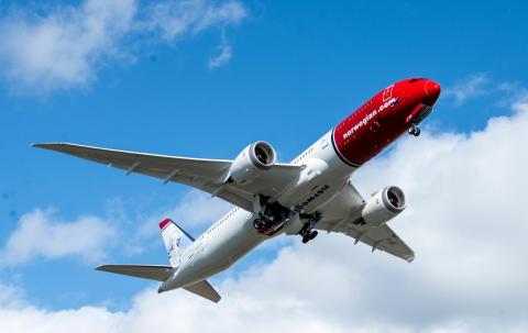 NORWEGIAN OPERERA LA ROUTE NICE-OSLO AVEC DES BOEING 787-DREAMLINER