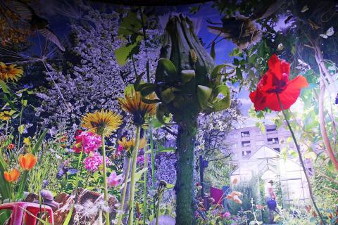 Blick in die Ausstellung - Carolas Garten - Yadegar Asisi (5)