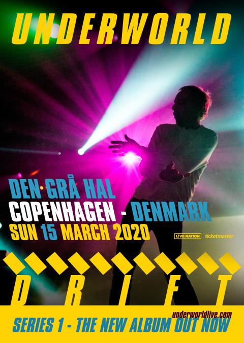 Underworld vender tilbage til Danmark efter at have leveret en anmelderrost og episk fest på dette års Roskilde Festival.