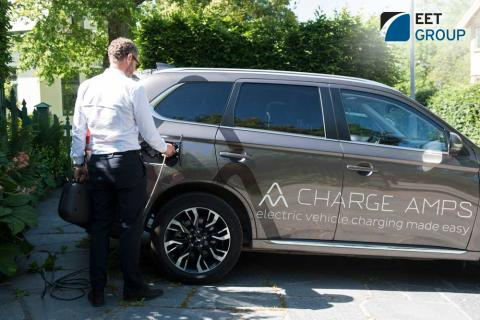 EET Group enters the Electric Vehicle Charging marketplace signing with the innovative Swedish green-tech company, Charge Amps