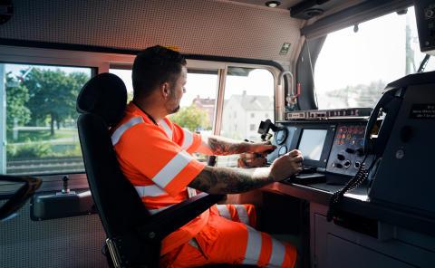 Omfattande aktiviteter ska attrahera lokförare till Green Cargo