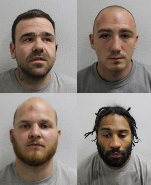 ​Four members of organised criminal gang jailed for more than 40 years