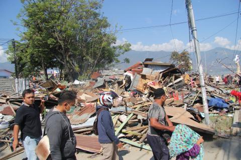 ADRA Danmark sender penge til tyfon- og tsunamiramte Asien