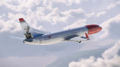 Bobby Moore announced as Norwegian's latest British tail fin hero