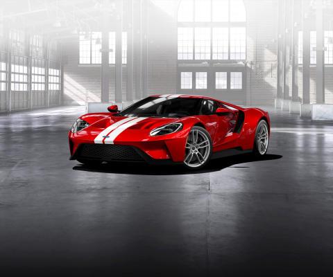 Ford åpner offisielt søknadsnettsted  for kjøpere av superbilen Ford GT
