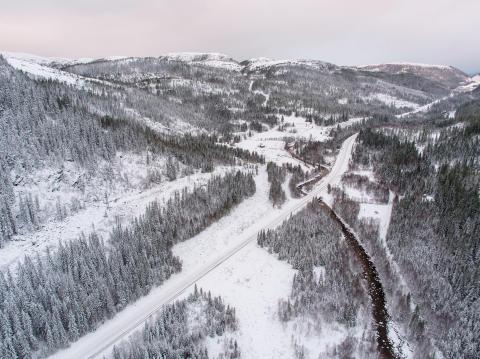 Drivingslei, Hogsdalen FV 715