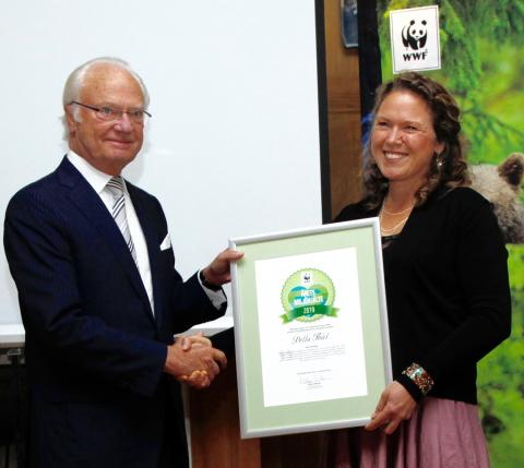 WWF's Environmental Hero Of The Year goes to champion for Rights of Nature and Ecocide Law: Pella Thiel