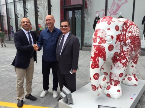 Elephant Parade: Suzhou opening event