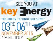 Vi ställer ut på Key Energy, Rimini Italien