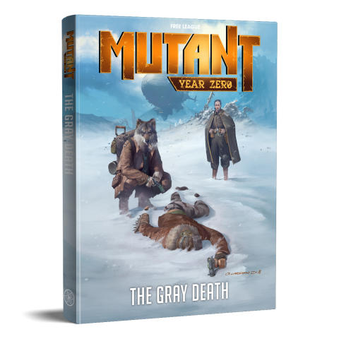 The Gray Death – Adventure Book to the Award-Winning Mutant: Year Zero RPG Released Today