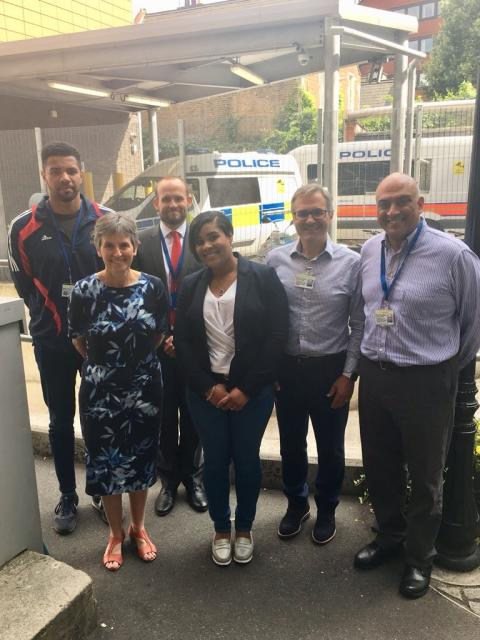 Volunteers help to move young people away from crime