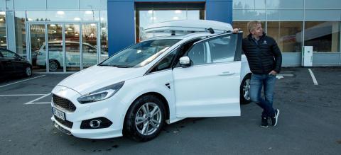 Familiebil:  Her er 7 gode grunner til å velge Ford S-MAX!